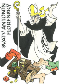 Česlava Talafantová - sv. Antonín