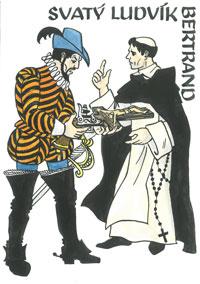 Česlava Talafantová - sv. Ludvík Bertrand